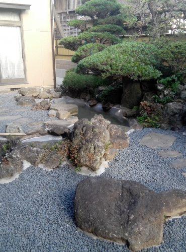 池庭園工事